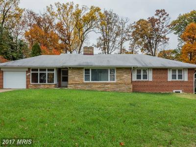 Silver Spring Single Family Home For Sale: 304 Southwest Drive