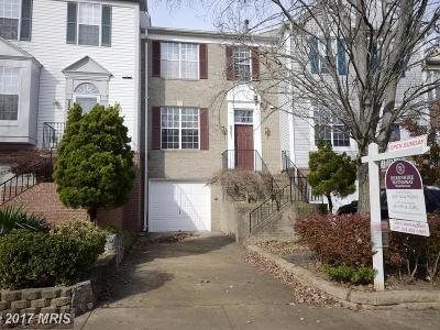 Silver Spring Townhouse For Sale: 2351 Cold Meadow Way