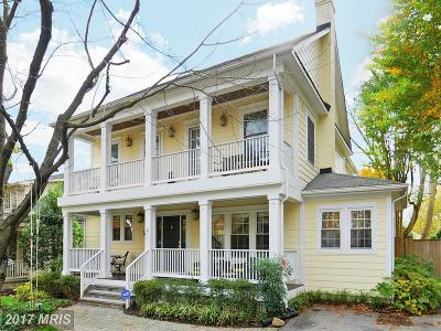 Chevy Chase Single Family Home For Sale: 4332 Leland Street