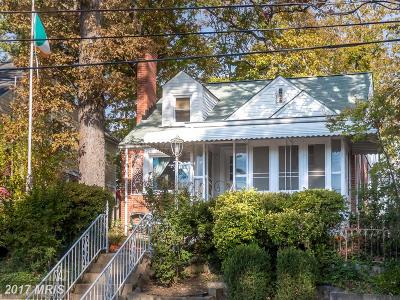 Takoma Park Single Family Home For Sale: 1004 Hopewell Avenue