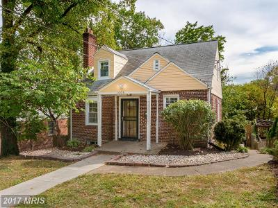 Takoma Park MD Single Family Home For Sale: $469,900