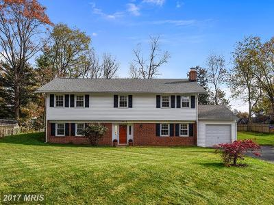 Rockville Single Family Home For Sale: 17813 Park Mill Drive