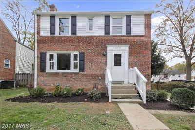 Silver Spring Single Family Home For Sale: 902 Dennis Avenue