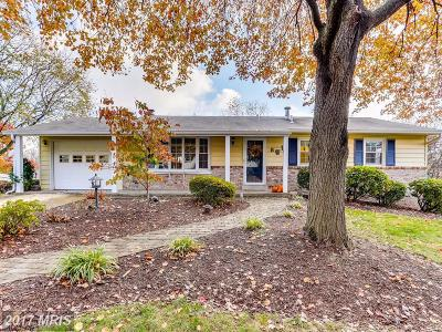 Gaithersburg Single Family Home For Sale: 8 Pavilion Drive