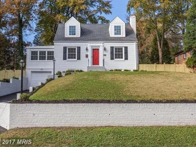 Silver Spring Single Family Home For Sale: 10012 Greenock Road
