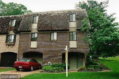 Montgomery Village MD Townhouse For Sale: $280,000