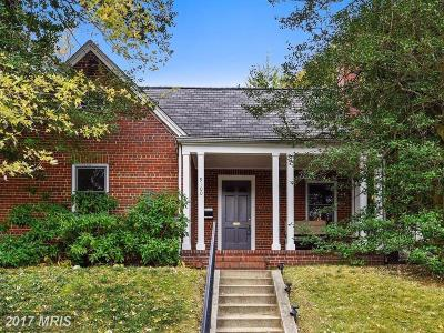 Silver Spring Single Family Home For Sale: 9100 Kingsbury Drive