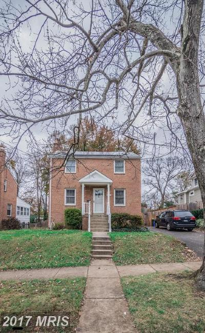 Kensington Single Family Home For Sale: 4215 Ambler Drive