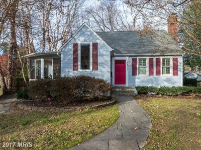 Bethesda Single Family Home For Sale: 4509 Gladwyne Drive