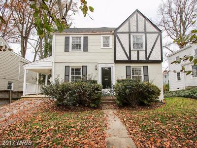 Bethesda Single Family Home For Sale: 5513 Northfield Road