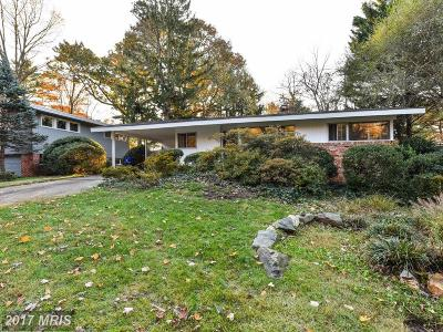 Chevy Chase Single Family Home For Sale: 5522 Greystone Street