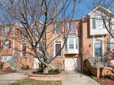 Potomac Townhouse For Sale: 13636 Hayworth Drive