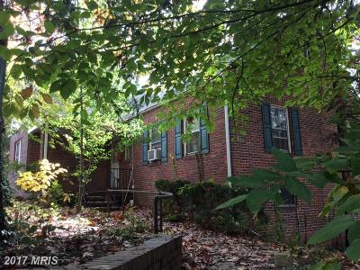 Takoma Park MD Single Family Home For Sale: $334,900