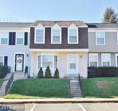 Gaithersburg Townhouse For Sale: 408 Carousel Court
