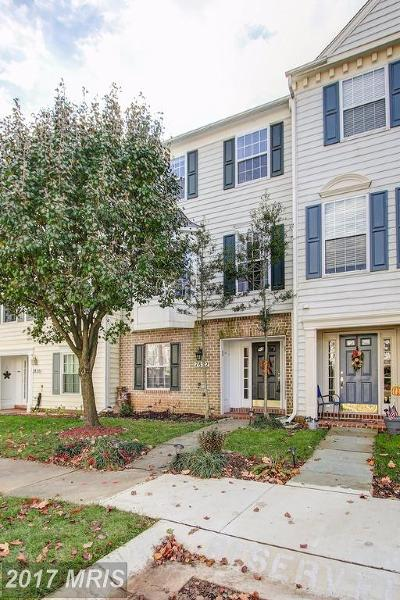 Gaithersburg Townhouse For Sale: 7822 Yankee Harbor Drive