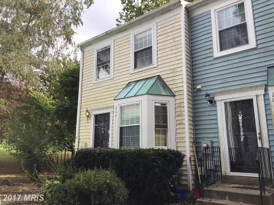 Germantown MD Townhouse For Sale: $187,900