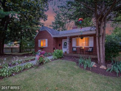 Silver Spring Single Family Home For Sale: 301 E Franklin Avenue