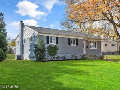 Rockville Single Family Home For Sale: 4700 Wyaconda Road