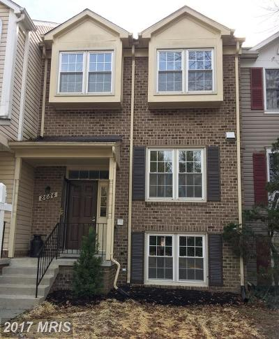 Gaithersburg MD Townhouse For Sale: $379,000