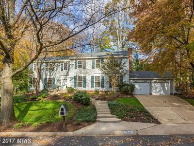Potomac Single Family Home For Sale: 7517 Hackamore Drive