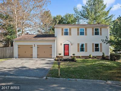 Gaithersburg Single Family Home For Sale: 9030 Chesley Knoll Court
