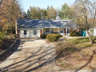 Rockville Single Family Home For Sale: 16412 Kipling Road