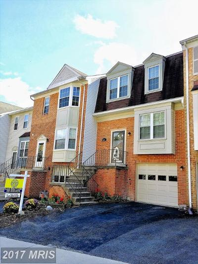 Gaithersburg Townhouse For Sale: 507 Suffield Drive