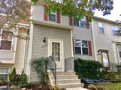 Silver Spring Townhouse For Sale: 12006 Bronzegate Place #114