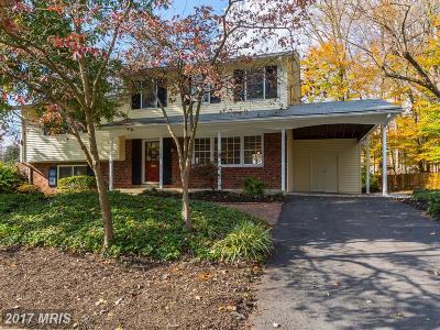 Rockville Single Family Home For Sale: 5302 Russett Road