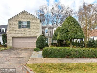 Bethesda Townhouse For Sale: 4306 Torchlight Circle