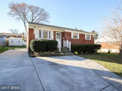 Rockville Single Family Home For Sale: 11418 Ashley Drive