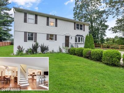 Gaithersburg Single Family Home For Sale: 8360 Hawkins Creamery Road