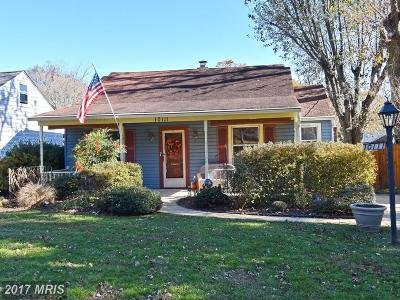 Silver Spring Single Family Home For Sale: 10111 Greenock Road