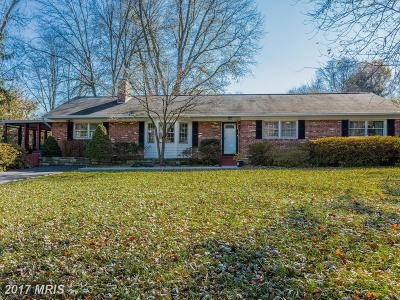 Silver Spring Single Family Home For Sale: 919 Ednor Road