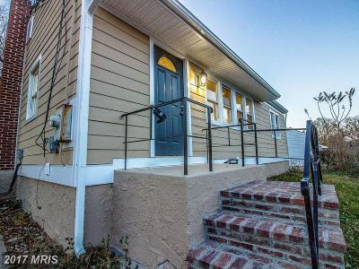 Rockville Single Family Home For Sale: 302 Edmonston Drive