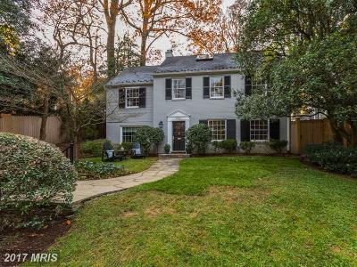 Bethesda MD Single Family Home For Sale: $865,000