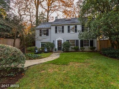 Bethesda Single Family Home For Sale: 6302 Massachusetts Avenue