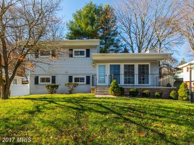 Rockville Single Family Home For Sale: 708 Twinbrook Parkway