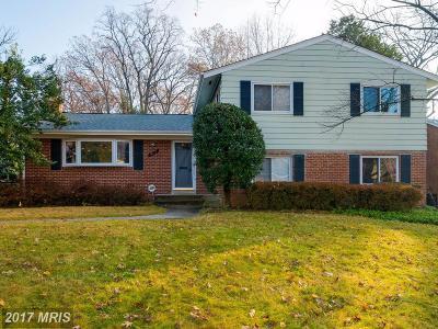 Bethesda Single Family Home For Sale: 10117 Ashburton Lane