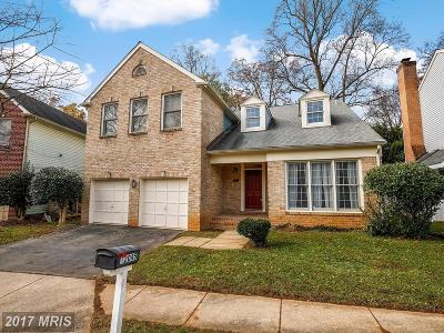 Rockville Single Family Home For Sale: 12045 Montrose Village Terrace