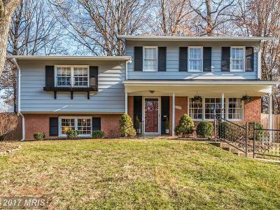 Rockville Single Family Home For Sale: 13709 Sloan Street