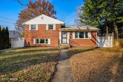 Rockville Single Family Home For Sale: 4905 Randolph Road