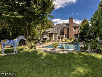 Bethesda Single Family Home For Sale: 9041 Holly Leaf Lane