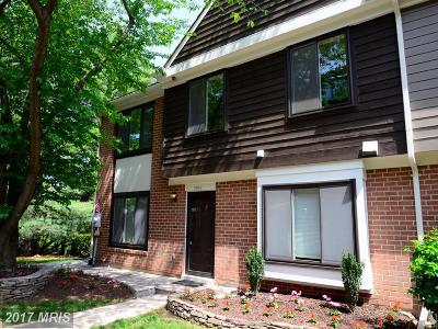 Rockville Townhouse For Sale: 5973 Valerian Lane