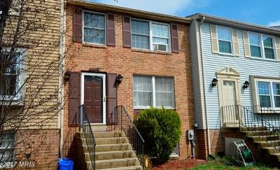 Montgomery Townhouse For Sale: 3415 Castle Way #105-35