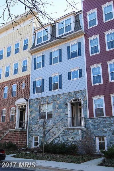 Gaithersburg Townhouse For Sale: 330 Park Avenue #13