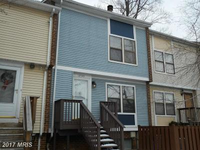 Germantown MD Townhouse For Sale: $229,000