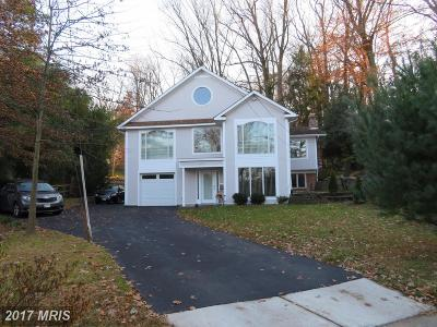 Bethesda MD Single Family Home For Sale: $997,000