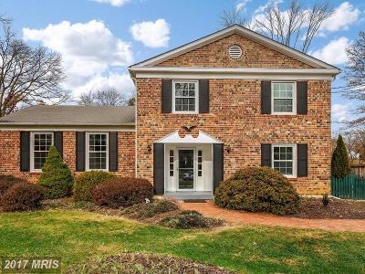 Rockville Single Family Home For Sale: 1496 Dunster Lane