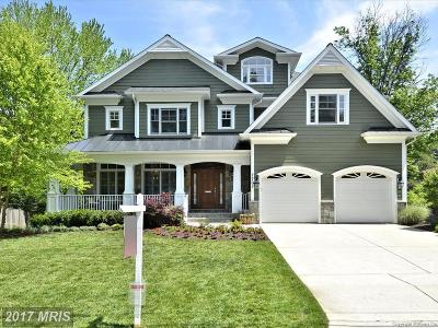 Bethesda MD Single Family Home For Sale: $2,050,000